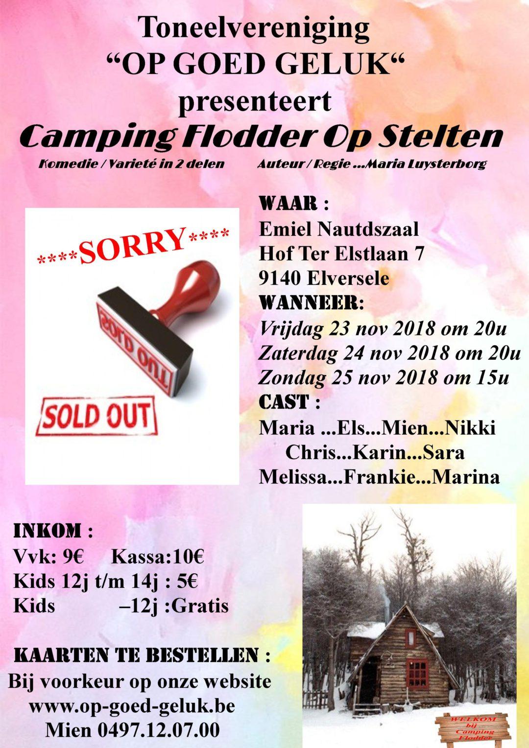 Camping Flodder op stelten 2018 Foto's